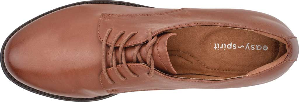 Women's Easy Spirit Rania Oxford, Brown Soft Calf Burnished, large, image 4