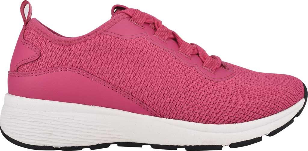 Women's Easy Spirit Skip2 Sneaker, Dark Pink Knit/Mesh, large, image 2