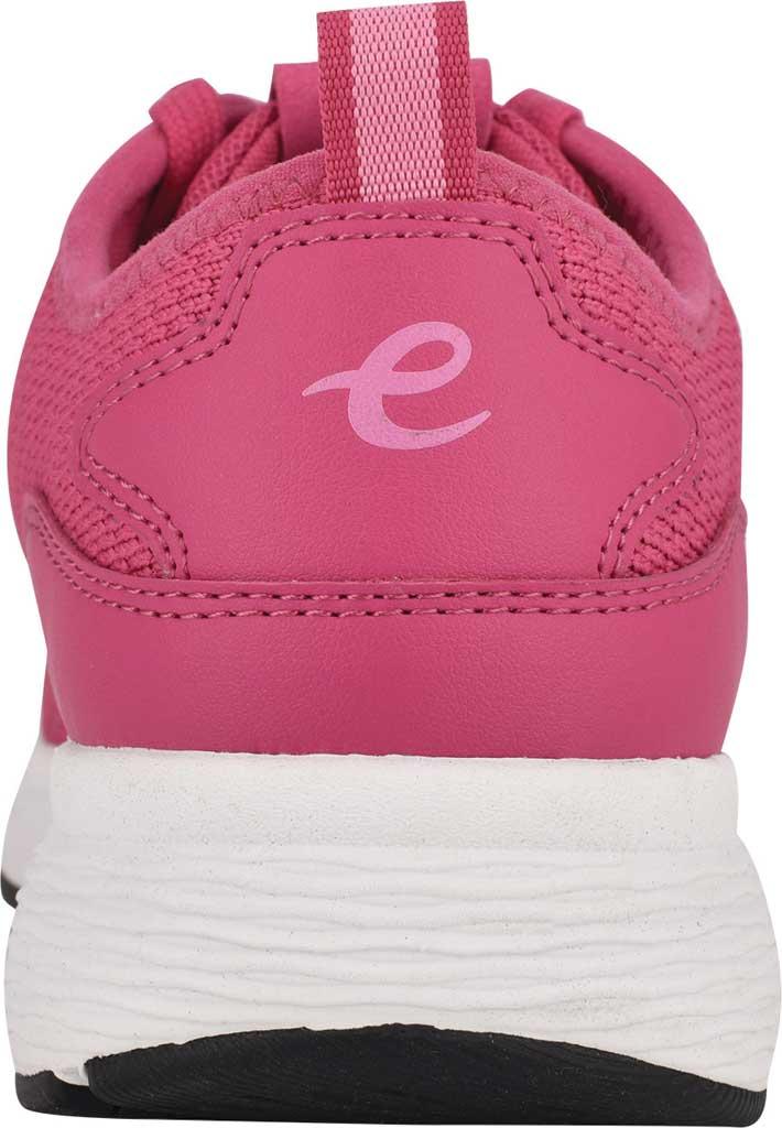Women's Easy Spirit Skip2 Sneaker, Dark Pink Knit/Mesh, large, image 3