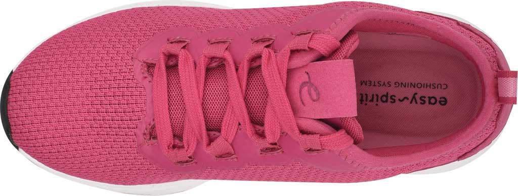 Women's Easy Spirit Skip2 Sneaker, Dark Pink Knit/Mesh, large, image 4