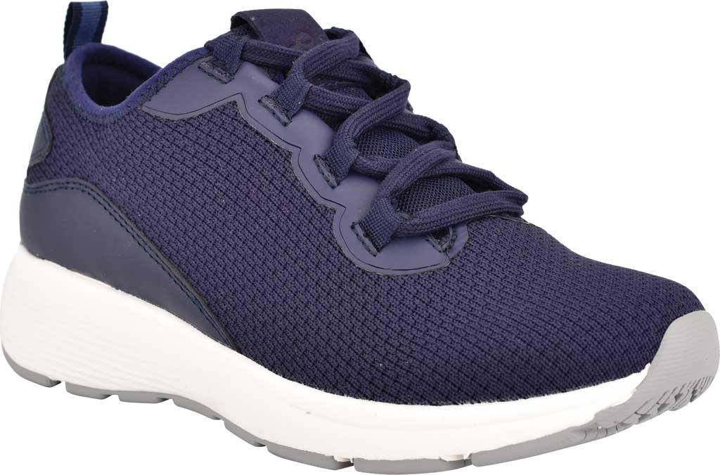 Women's Easy Spirit Skip2 Sneaker, Evening Blue/Evening Knit/Mesh, large, image 1