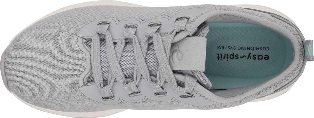 Women's Easy Spirit Skip2 Sneaker, Light Grey Knit/Mesh, large, image 4