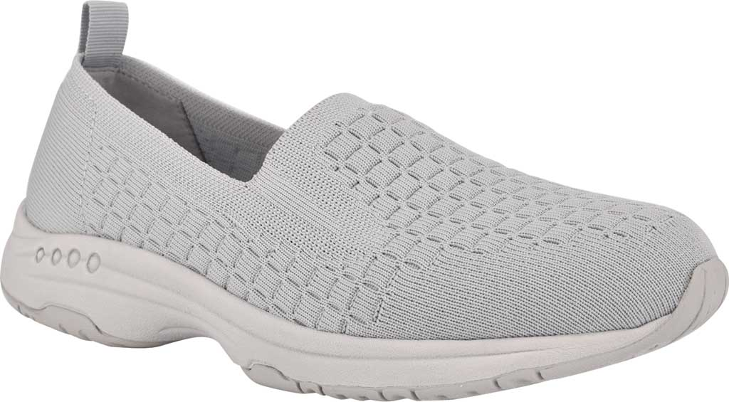 Women's Easy Spirit Tech2 Slip On Sneaker, Fog/Fog Recycled Knit, large, image 1