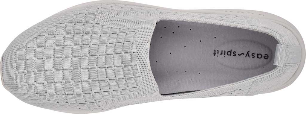 Women's Easy Spirit Tech2 Slip On Sneaker, Fog/Fog Recycled Knit, large, image 4