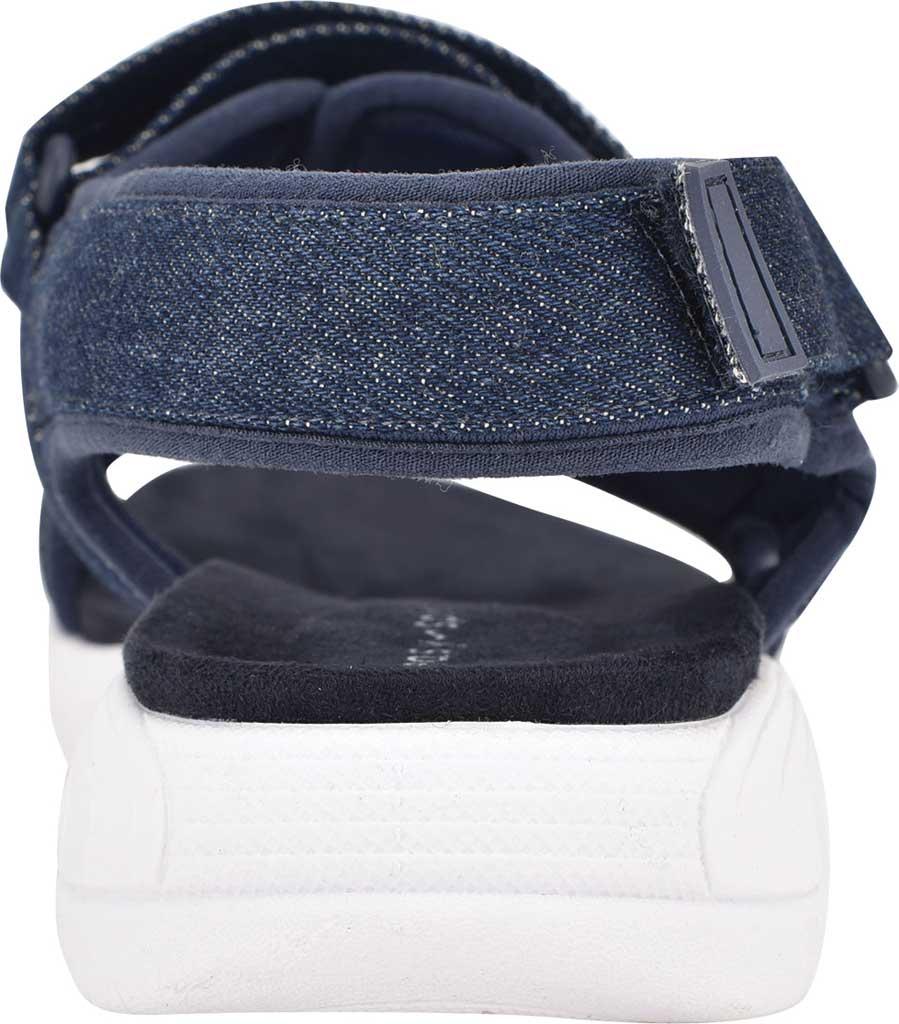 Women's Easy Spirit Tabata Active Sandal, Mood Indigo/Mood Denim Stretch Fabric, large, image 3