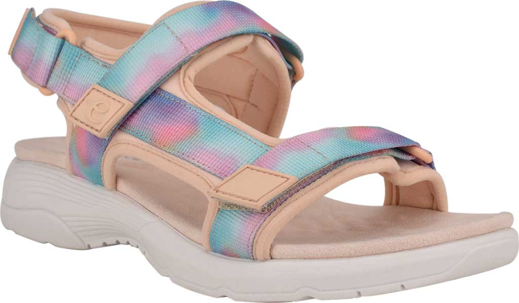 Women's Easy Spirit Tabata Active Sandal, Peach Puree/Peach Stretch Fabric, large, image 1