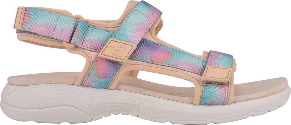 Women's Easy Spirit Tabata Active Sandal, Peach Puree/Peach Stretch Fabric, large, image 2