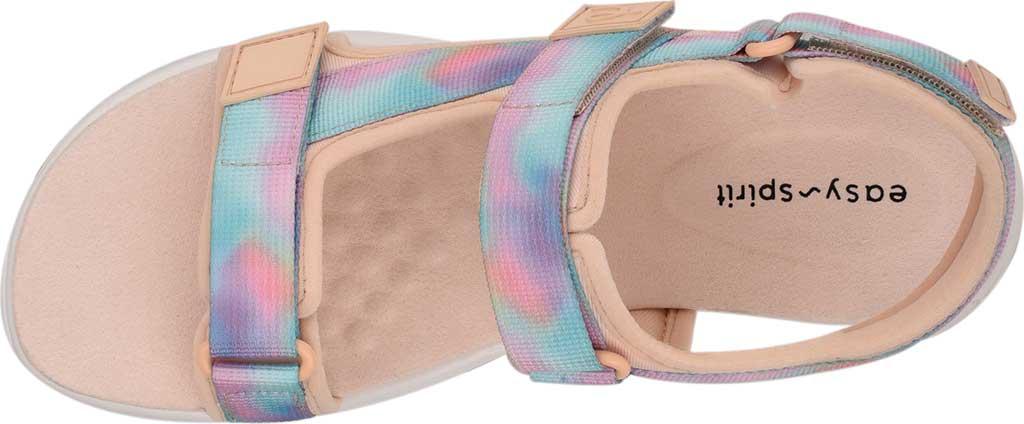 Women's Easy Spirit Tabata Active Sandal, Peach Puree/Peach Stretch Fabric, large, image 4