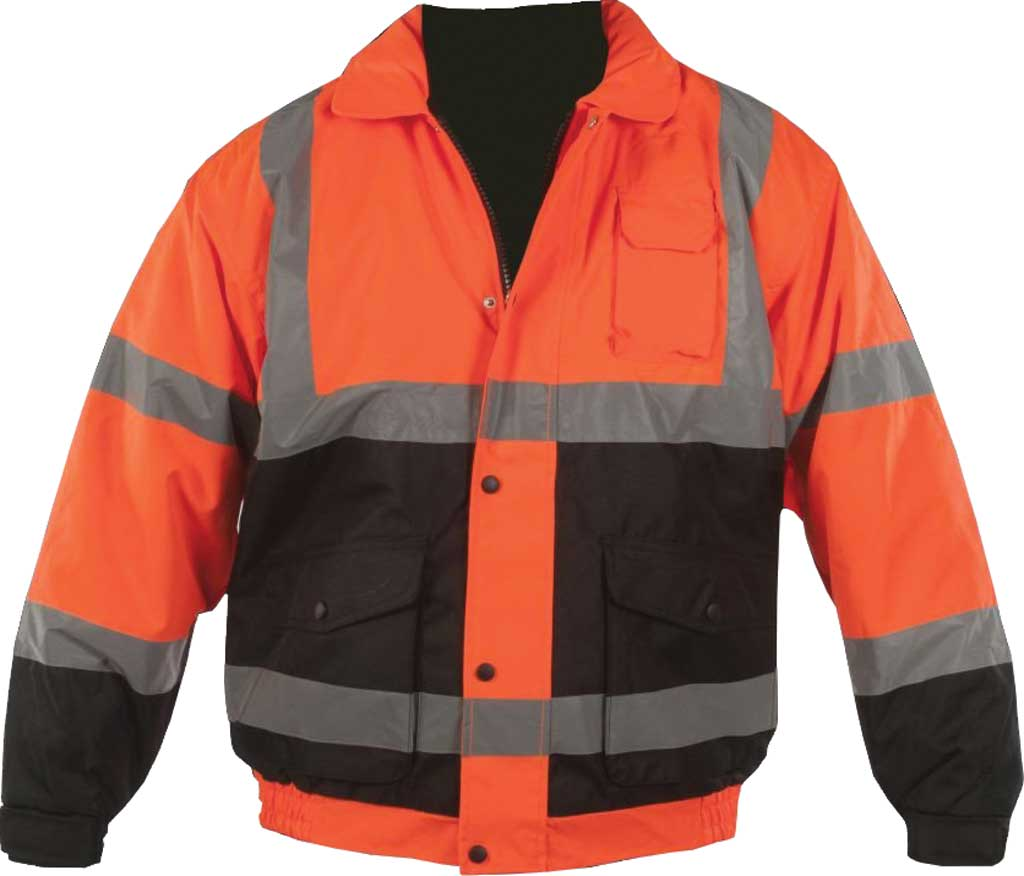 Men's Utility Pro High Visibility Quilt Lined Bomber Jacket, , large, image 1