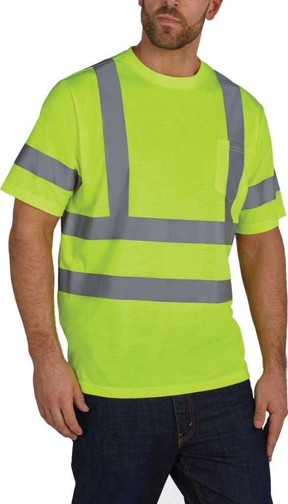 Men's Utility Pro High Visibility Short Sleeve Jersey Tee, , large, image 1