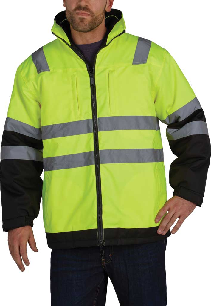 Men's Utility Pro High Visibility Arctic 3-in-1 Tall Jacket, Black/Yellow, large, image 1