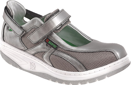 Women's Sano by Mephisto Excess, Steel Perl Calfskin, large, image 1