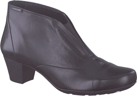 Women's Mephisto Maddie Bootie, Black Nappa Leather, large, image 1