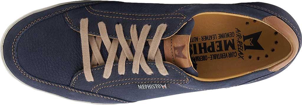 Men's Mephisto Ludo Sneaker, Navy Sportbuck/Hazelnut Mano, large, image 3