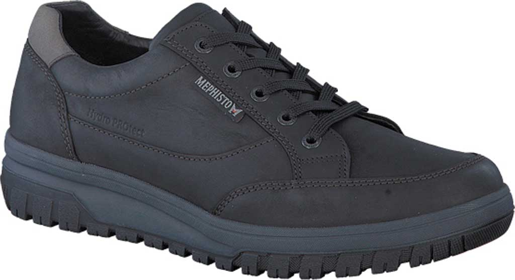 Men's Mephisto Paco Sneaker, Black Grizzly Nubuck, large, image 1