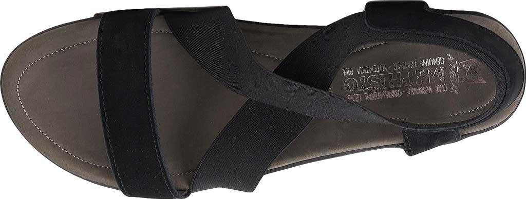 Women's Mephisto Pastora Sandal, Black Bucksoft Leather, large, image 4