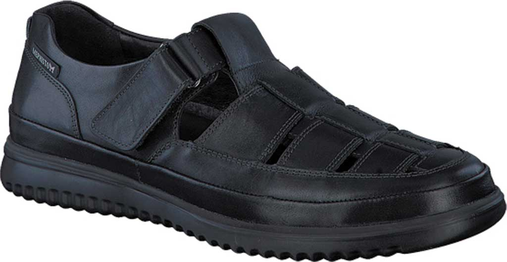 Men's Mephisto Tarek Shoe, Black Randy Smooth Leather, large, image 1