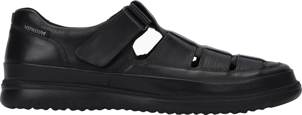 Men's Mephisto Tarek Shoe, Black Randy Smooth Leather, large, image 2