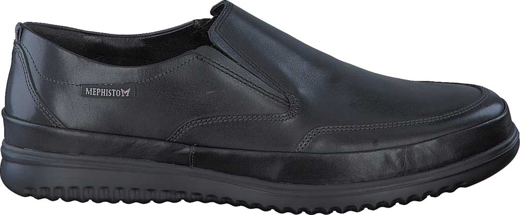 Men's Mephisto Twain Loafer, Black Randy Smooth Leather, large, image 2