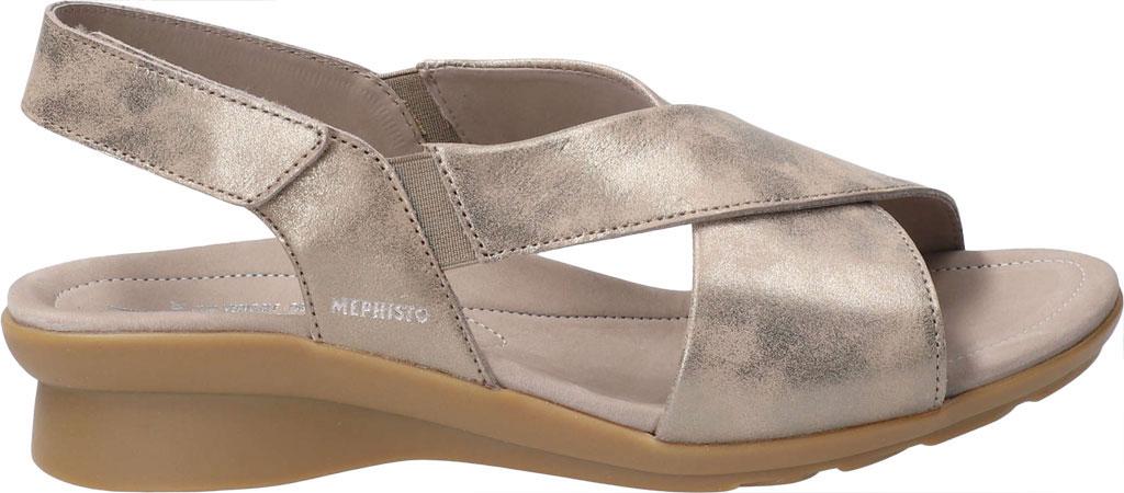 Women's Mephisto Phara Slingback Sandal, Dark Taupe Monaco Smooth Leather, large, image 2