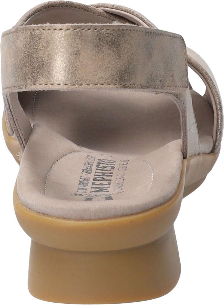 Women's Mephisto Phara Slingback Sandal, Dark Taupe Monaco Smooth Leather, large, image 4