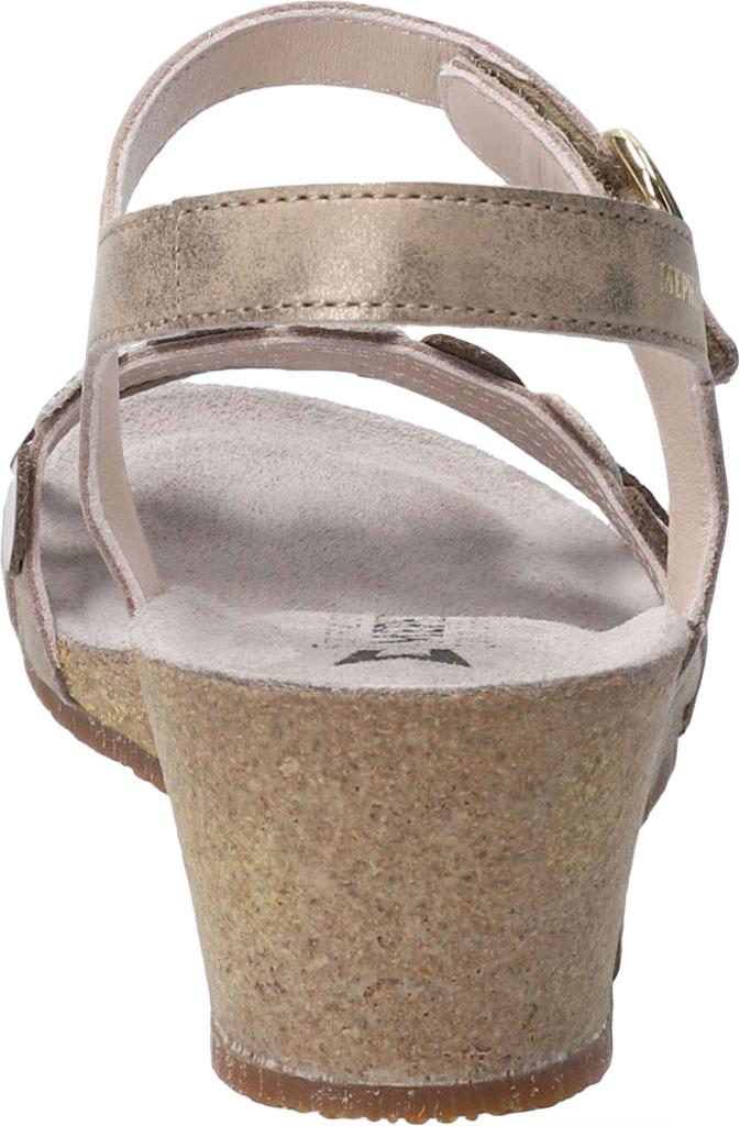 Women's Mephisto Matilde Wedge Sandal, Dark Taupe Monaco Smooth Leather, large, image 4