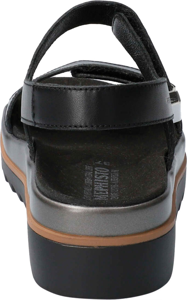 Women's Mephisto Dominica Platform Sandal, Black Softy Smooth Leather, large, image 4