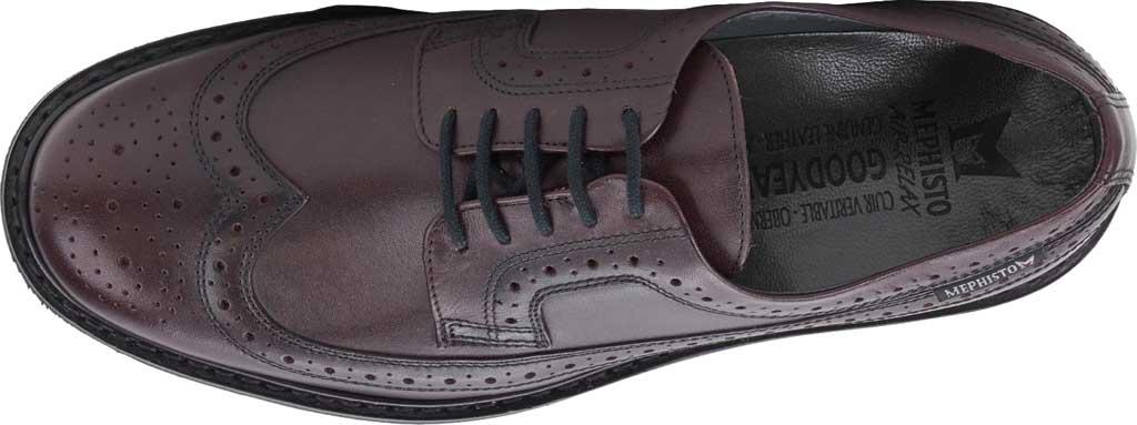 Men's Mephisto Matthew Wing Tip Oxford, Cordovan Elcho Leather, large, image 3