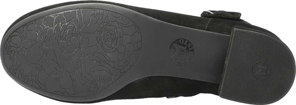 Women's Mephisto Balina Ankle Bootie, Black Velcalf Premium Suede, large, image 5