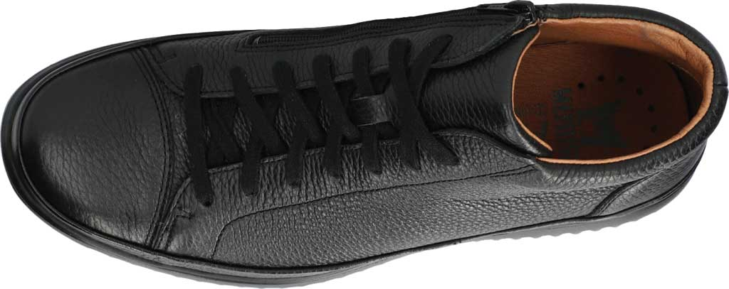 Men's Mephisto Trevor High Top Sneaker, Black Oregon Smooth Leather, large, image 3