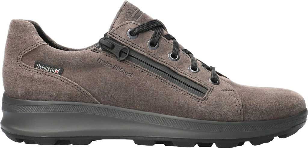 Women's Mephisto Vally Sneaker, Graphite Velsport Suede, large, image 2