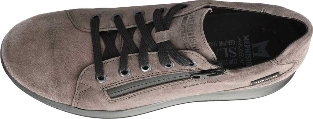 Women's Mephisto Vally Sneaker, Graphite Velsport Suede, large, image 4