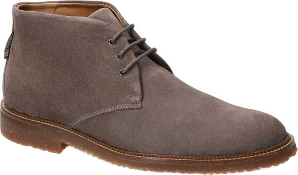 Men's Mephisto Polo Chukka Boot, Dark Grey Velours Suede, large, image 1