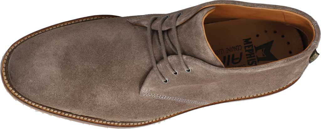 Men's Mephisto Polo Chukka Boot, Dark Grey Velours Suede, large, image 4