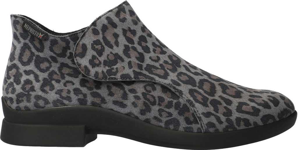 Women's Mephisto Samira Ankle Bootie, Dark Grey Leopard Nubuck, large, image 2