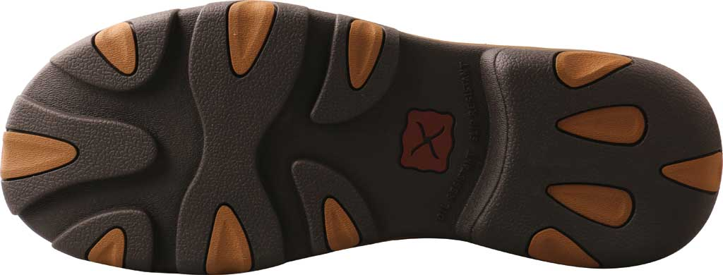 """Men's Twisted X MHKBN01 11"""" Pull On Hiker Composite Toe Work Boot, Charcoal/Tan Full Grain Leather, large, image 6"""