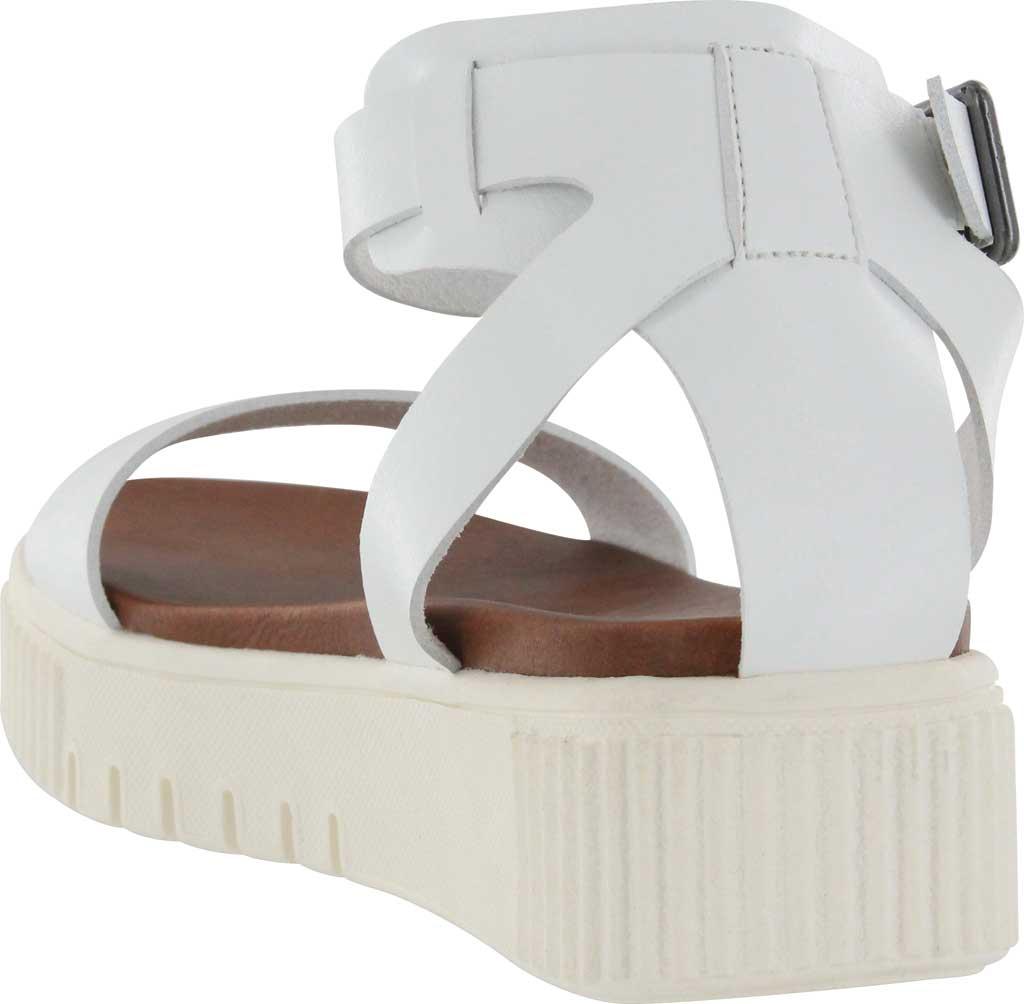 Women's Mia Lunna Athletic Sandal, White Vegan Leather, large, image 2