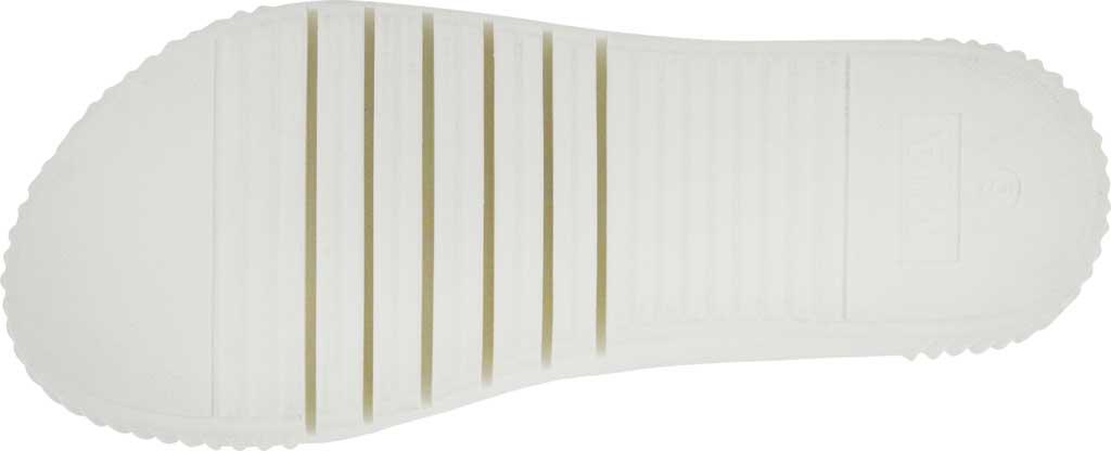 Women's Mia Lunna Athletic Sandal, White Vegan Leather, large, image 3