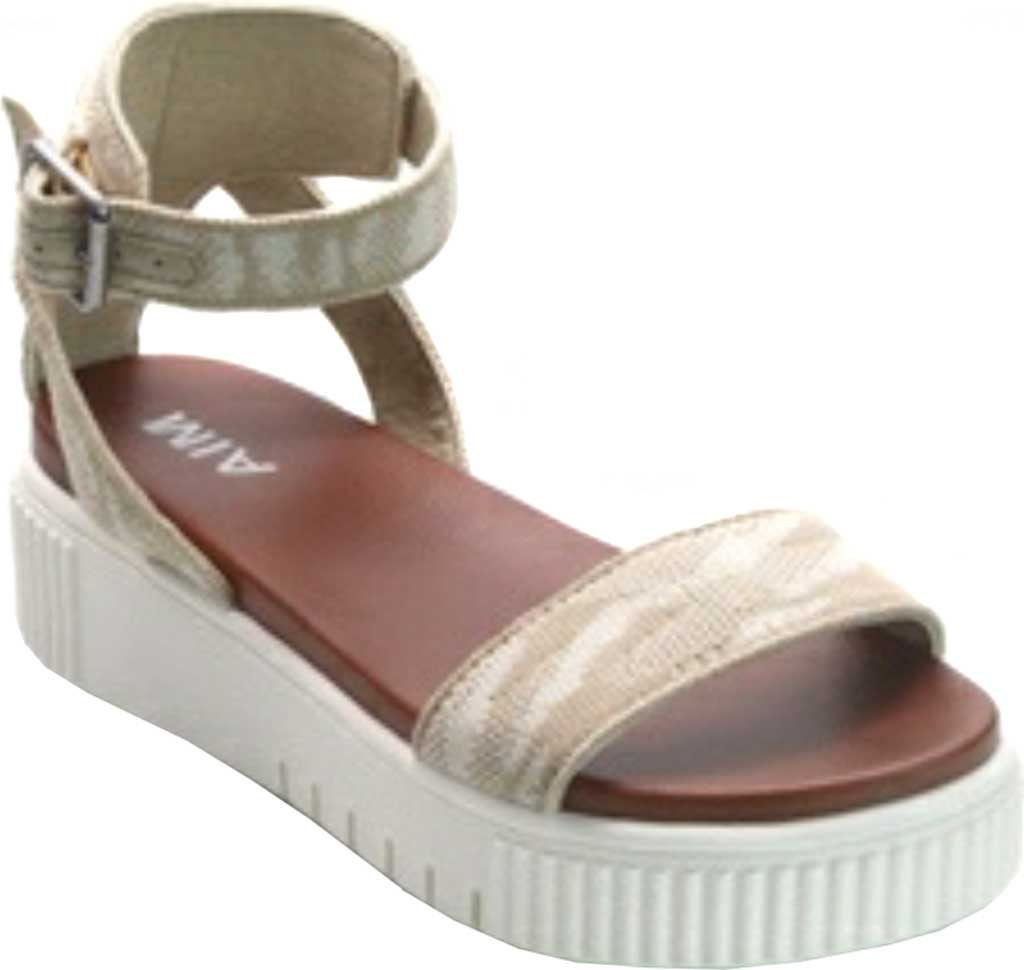 Women's Mia Lunna Athletic Sandal, Sand Camo Fly Knit, large, image 1