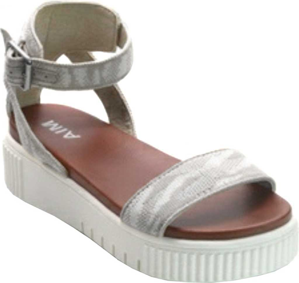 Women's Mia Lunna Athletic Sandal, Snow Camo Fly Knit, large, image 1