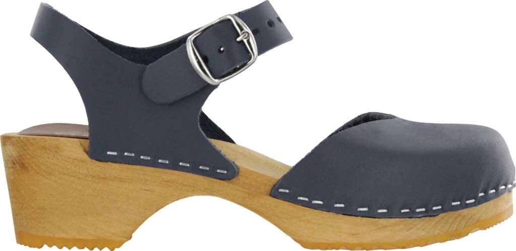 Women's Mia Sofia Closed Toe Sandal, Navy Italian Leather, large, image 2
