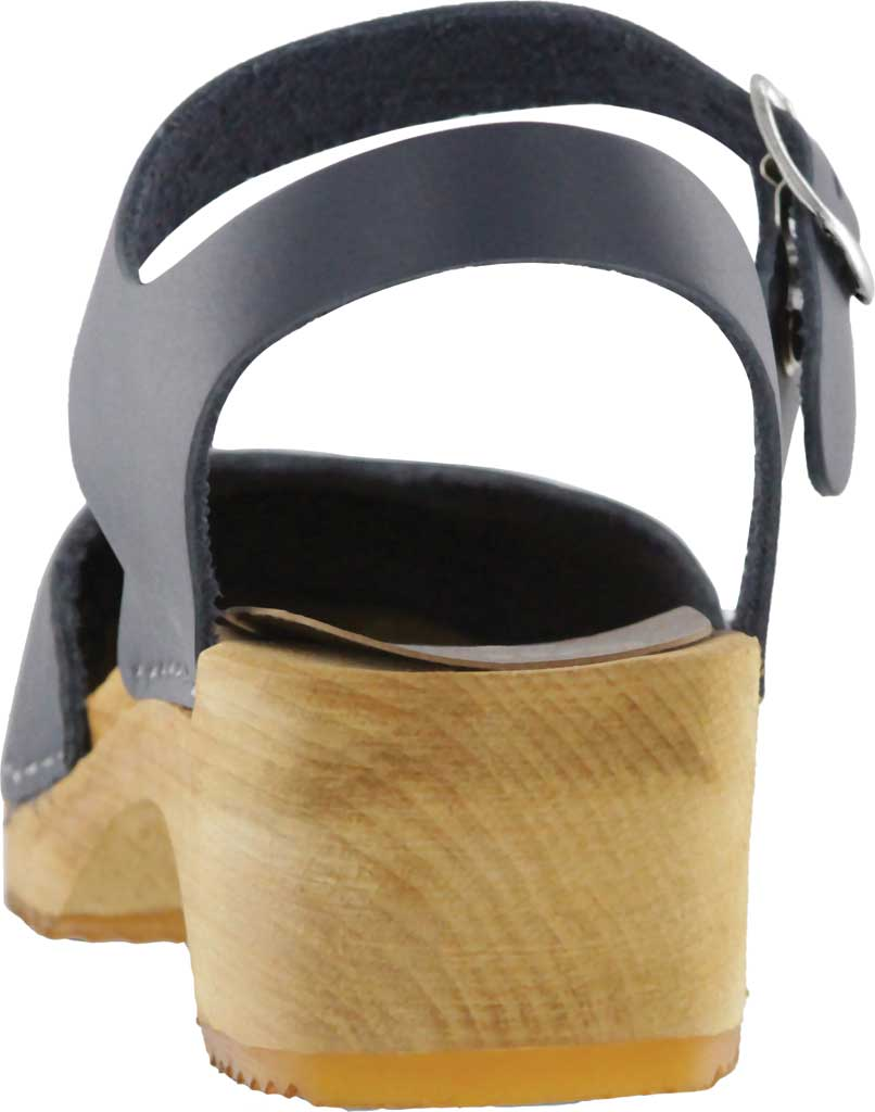 Women's Mia Sofia Closed Toe Sandal, Navy Italian Leather, large, image 3