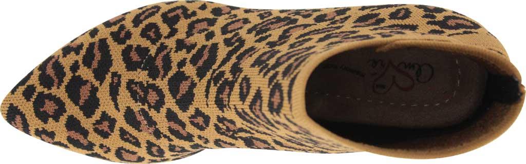 Women's Mia Amore Leann Flyknit Bootie, Leopard Flyknit, large, image 4