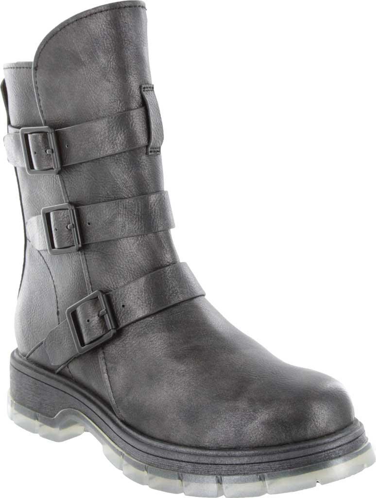 Women's Mia Seth-R Ankle Bootie, Black Manmade, large, image 1