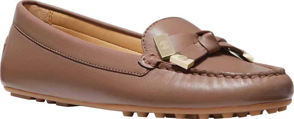 Women's MICHAEL Michael Kors Ripley Moc Toe Loafer, Dark Fawn Nappa Leather, large, image 1