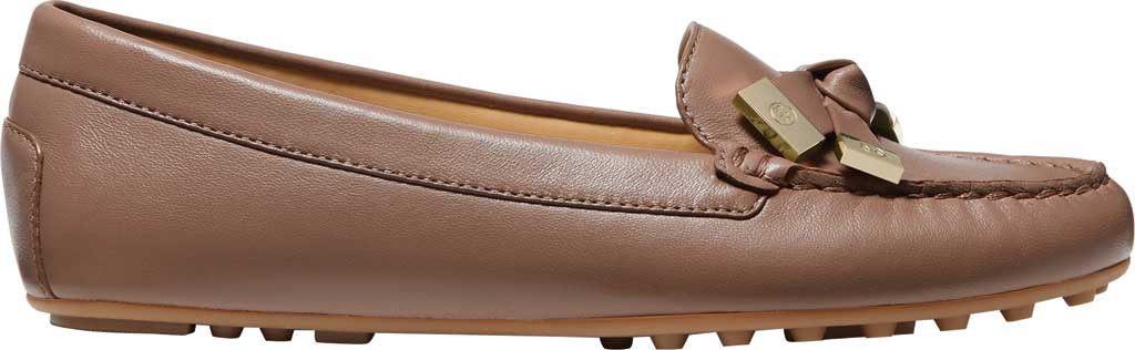 Women's MICHAEL Michael Kors Ripley Moc Toe Loafer, Dark Fawn Nappa Leather, large, image 2