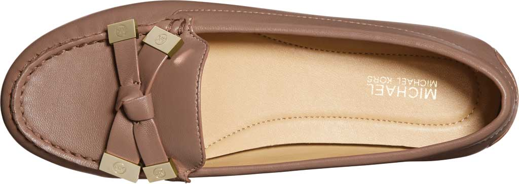 Women's MICHAEL Michael Kors Ripley Moc Toe Loafer, Dark Fawn Nappa Leather, large, image 3