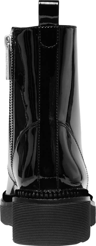 Women's MICHAEL Michael Kors Haskell Combat Bootie, Black Patent Leather, large, image 4