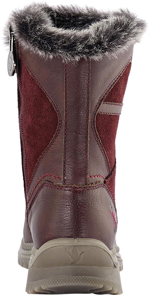 Women's Santana Canada Majesta Luxe Short Waterproof Boot, Bordeaux Leather, large, image 4