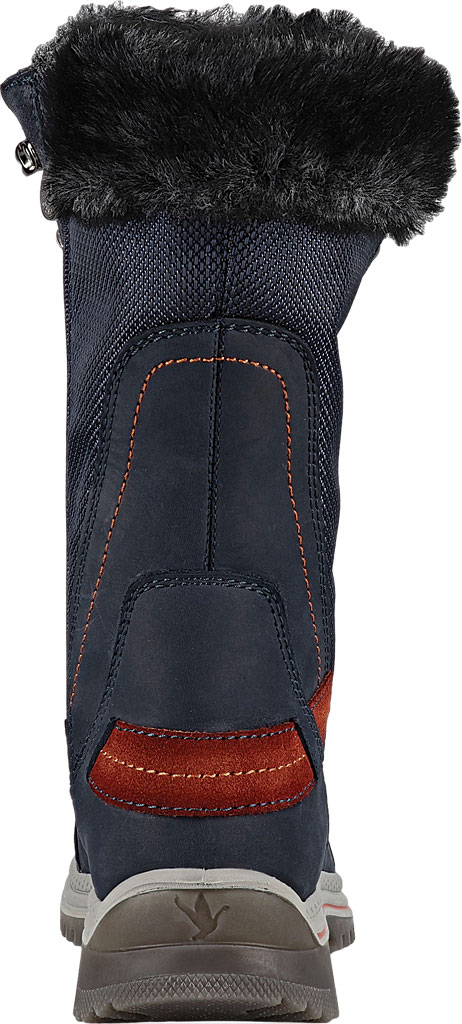 Women's Santana Canada Micah Tall Winter Boot, Navy/Rust Leather, large, image 4